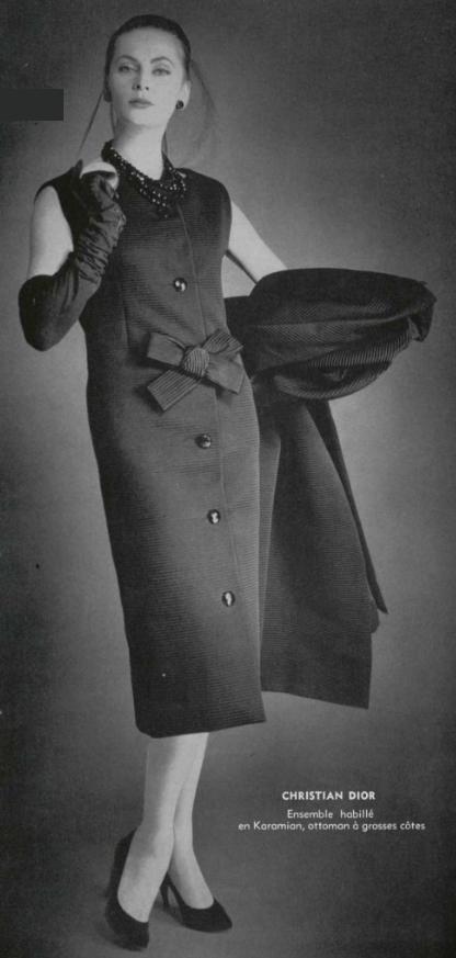 1957 - Christian Dior ensemble
