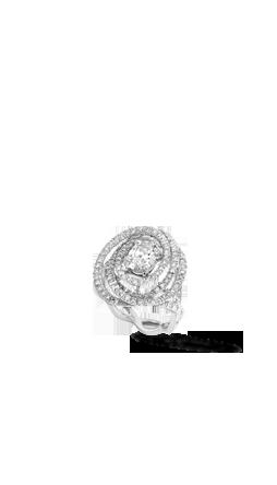 Bague 1932 en or blanc 18 carats et diamants.