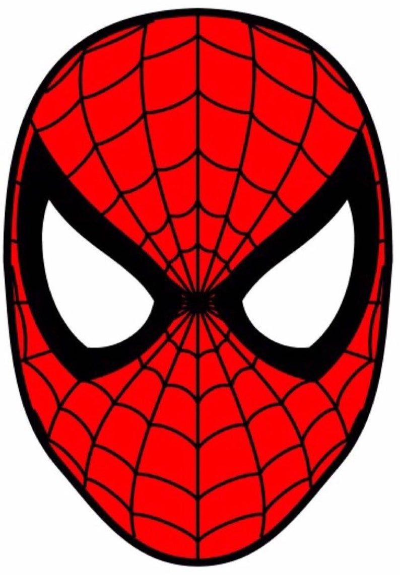 Superheroe Cake Toppers Caras Comestibles Spiderman Mask Spiderman Coloring Spiderman Face