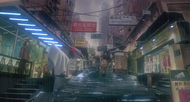 The Magic Of The Internet Ghost In The Shell Anime Background Cyberpunk City