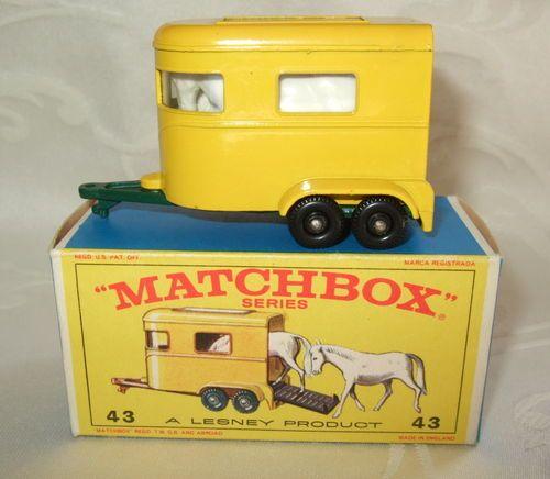 57 Trailer Caravan REPRO BOX MATCHBOX SUPERFAST n