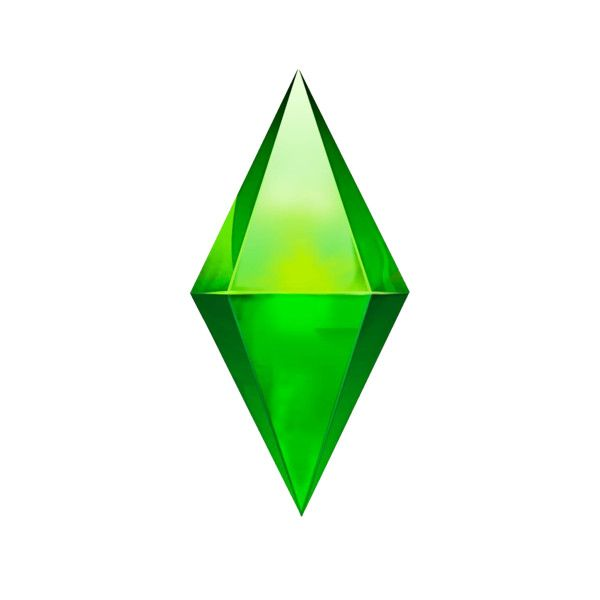 Sims Plumbob Sims Png Polyvore