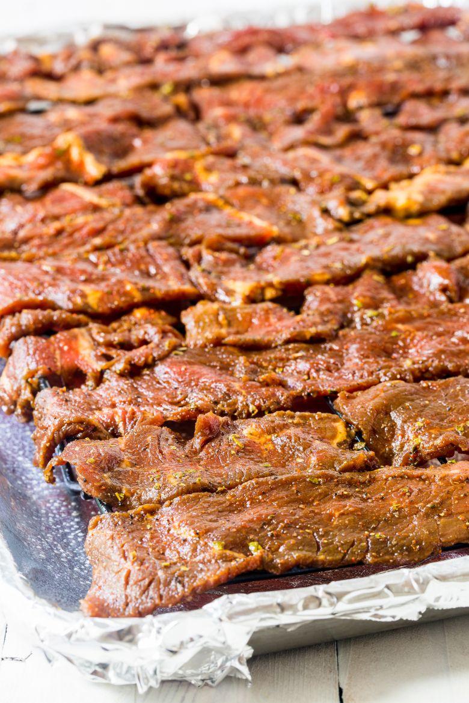 Bacon Burger Jerky - Homemade Ground Beef Jerky Recipe