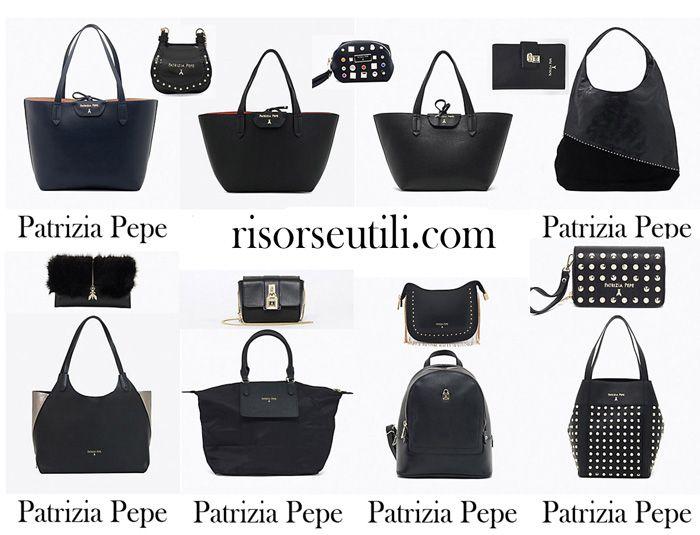 f7c41bbf8426 Bags Patrizia Pepe fall winter 2017 2018 new arrivals Fashion Purses