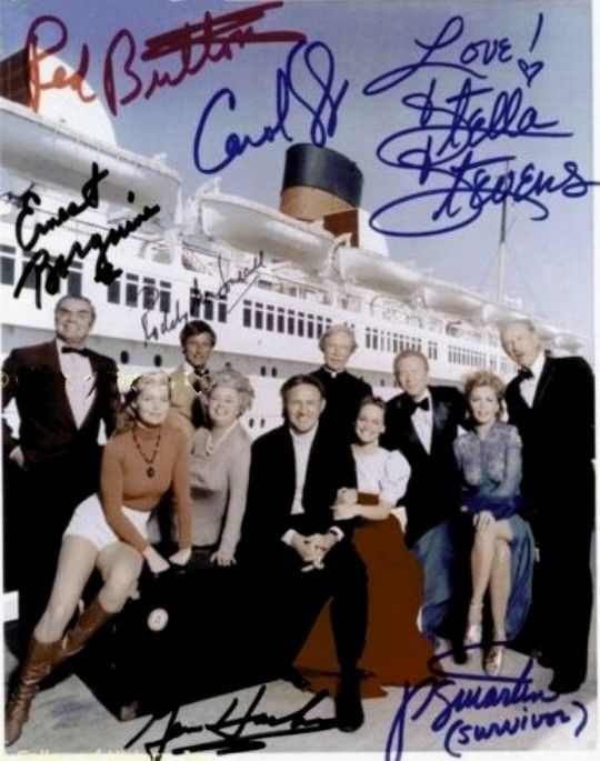 Cast Autographed Photo The Poseidon Adventure 1972 The