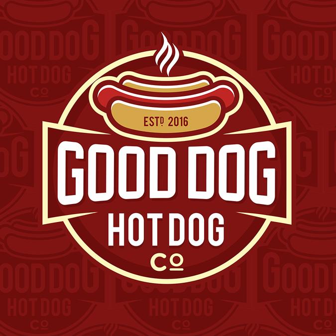 jeepcj7guy picked a winning design in their logo design contest for rh pinterest nz hot dog lego hot dog mascot