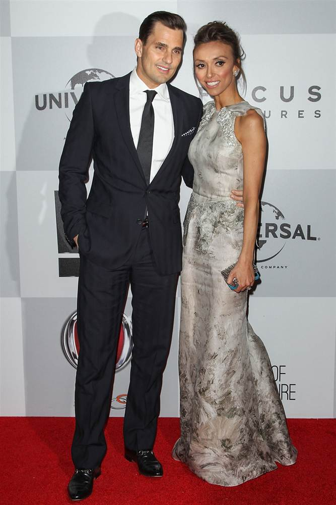 Chicago Celebrities Bill And Guiliana Rancic With Images Celebrity Dresses Celebrity Couples Beautiful Celebrities