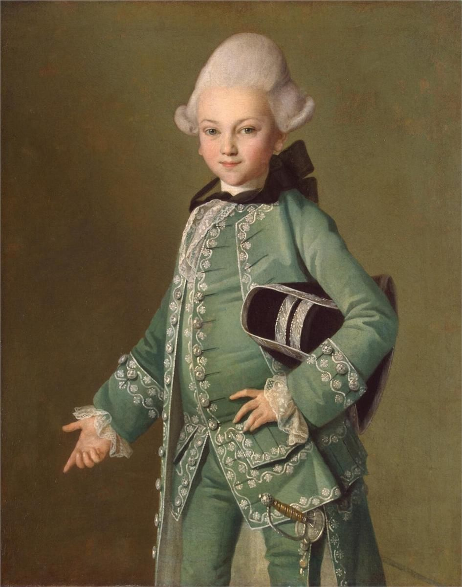 Portrait of Alexey Bobrinsky as a Child CarlLudwig