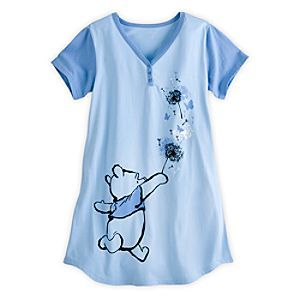b184b1b7ec Disney Winnie the Pooh Nightshirt for Women - Blue