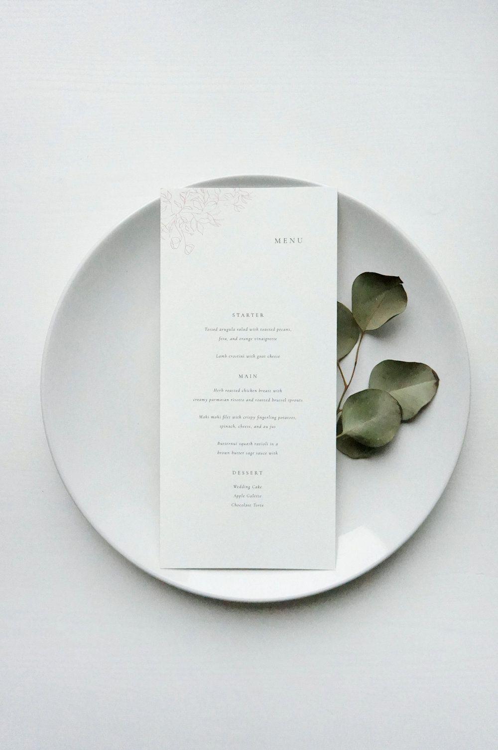 Photo of Gatherie Creative – Flourish semi-custom menu