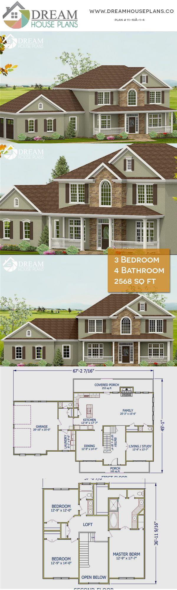 3 Bedroom 4 Bathroom 2568 Sq Ft 11 10a 1 4