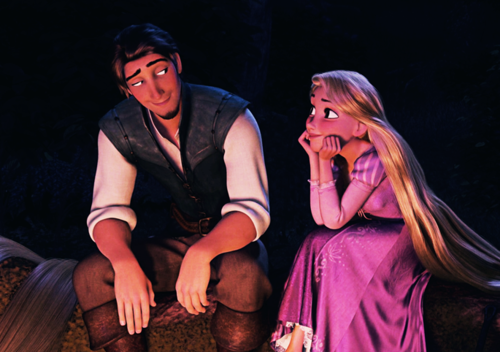 Flynn is 26 years-old, and Rapunzel just turned 18. Bet you didn't know that did you?