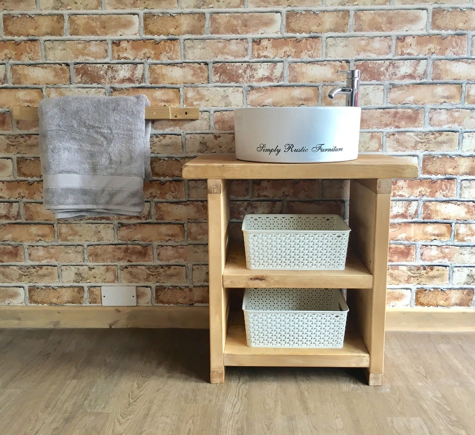 The vineyard wash stand hand crafted rustic bathroom vanity belfast