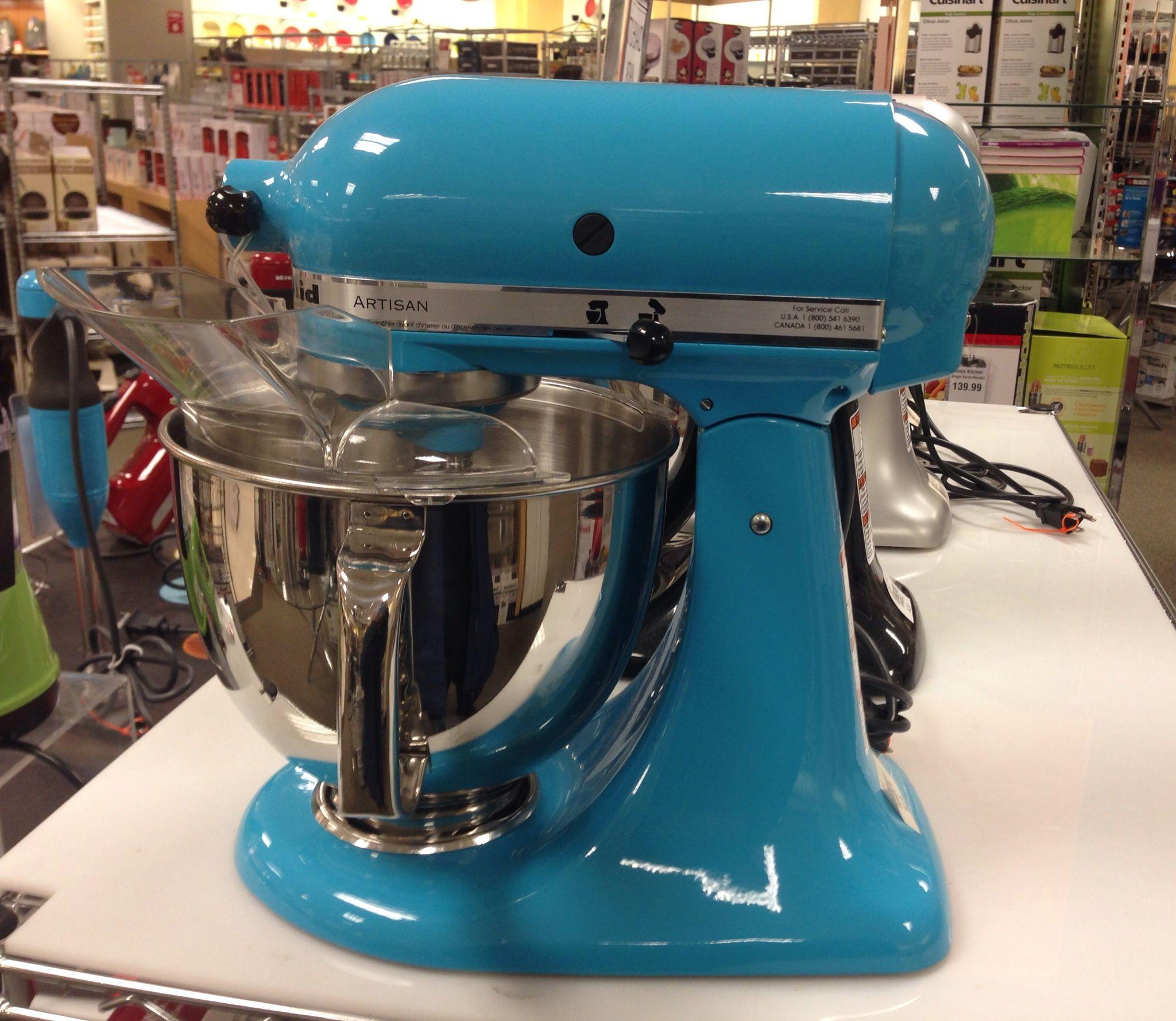 Crystal Blue Kitchenaid Mixers Pinterest
