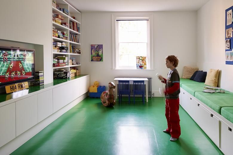 The House Of Fun Playroom Flooring Attic Renovation