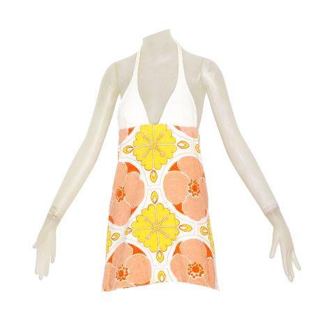 1970s Consortium Mini Dress | See more vintage Mini Dresses at http://www.1stdibs.com/fashion/clothing/day-dresses/mini-dresses in 1stdibs