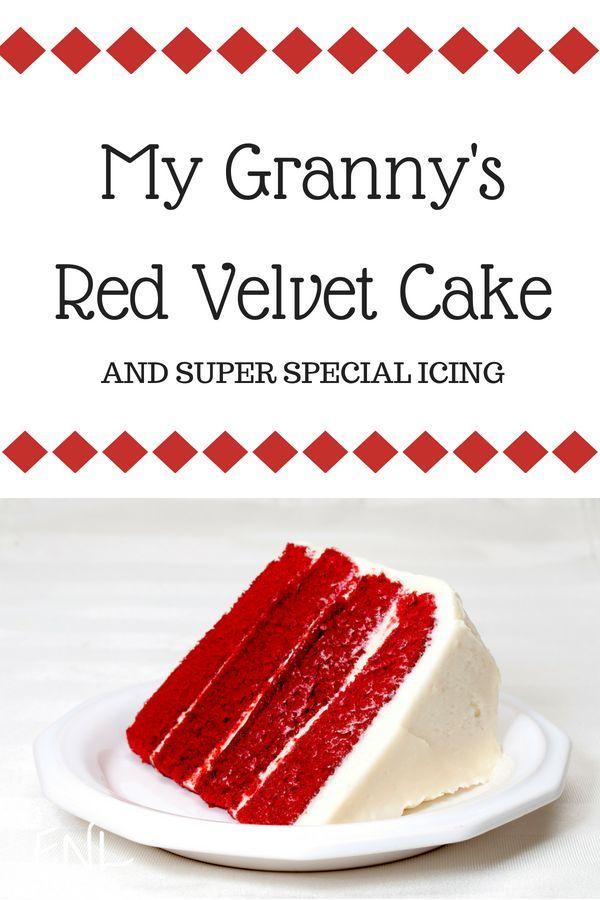 Granny's Red Velvet Cake Family -