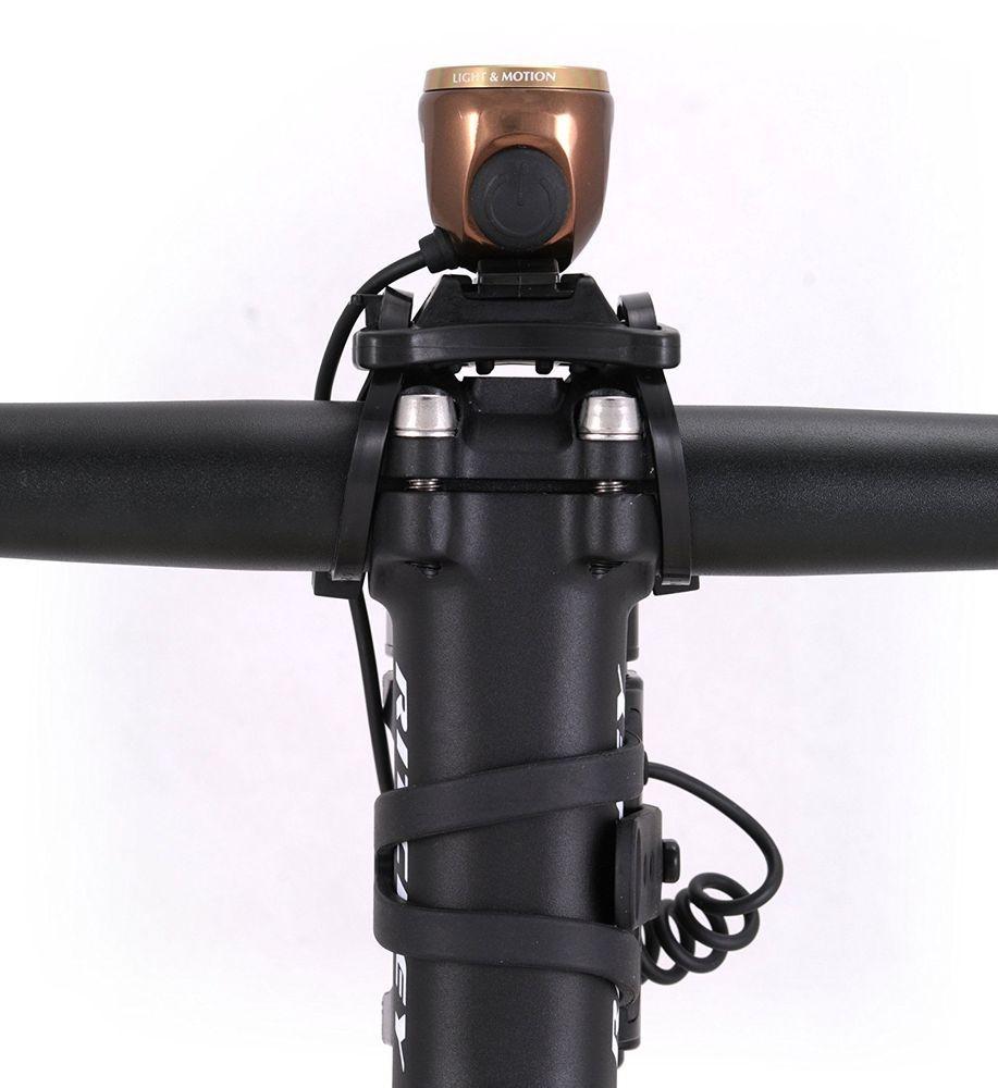 Light & Motion Solite 150 LED Headlight (Bronze) Running Walking Biking MTB #LightMotion