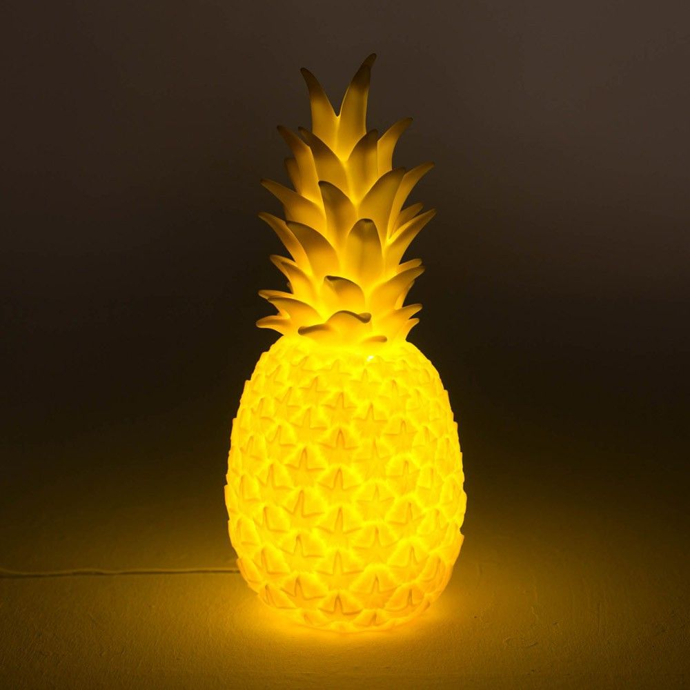 ananas-lampe-gelb