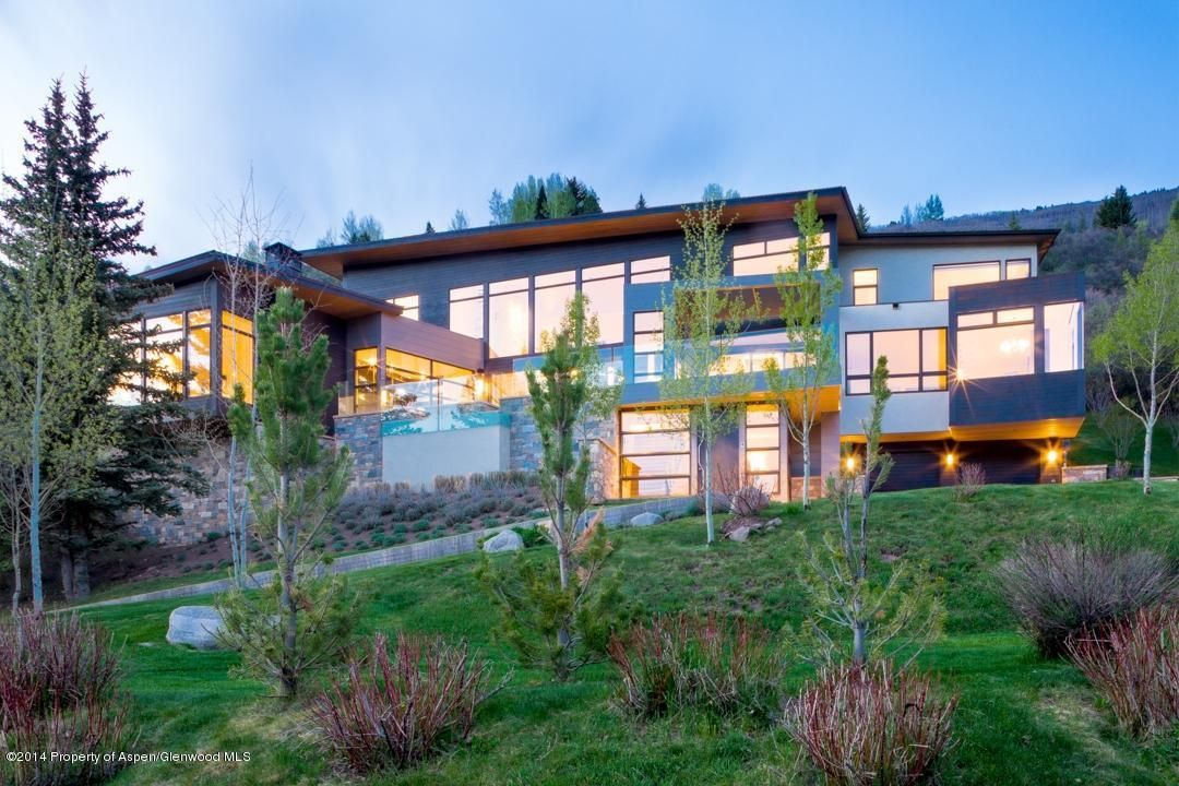A stunning contemporary and tasteful design. Certainly one of the most unique and beautiful homes you'll ever see. Aspen, CO Coldwell Banker Mason Morse Real Estate $24,995,000