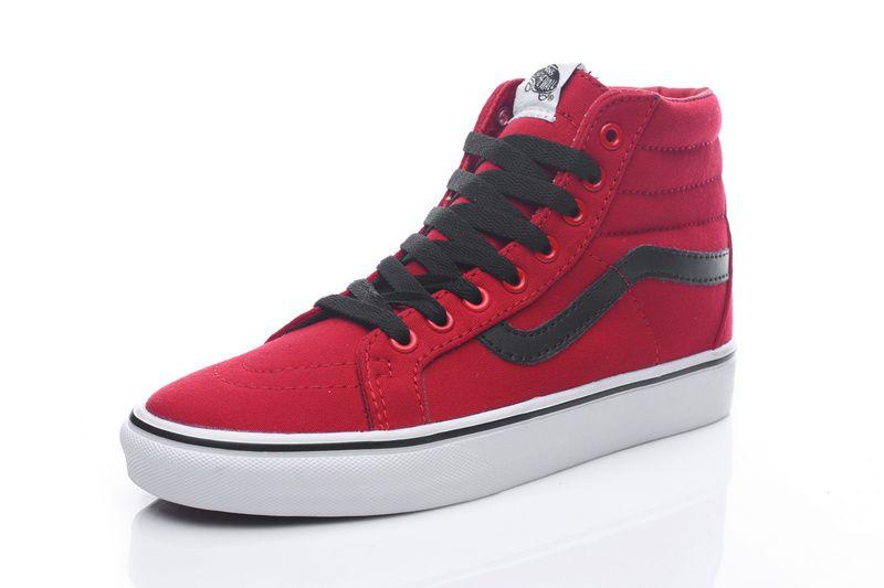 Black Canvas Shoes #Vans