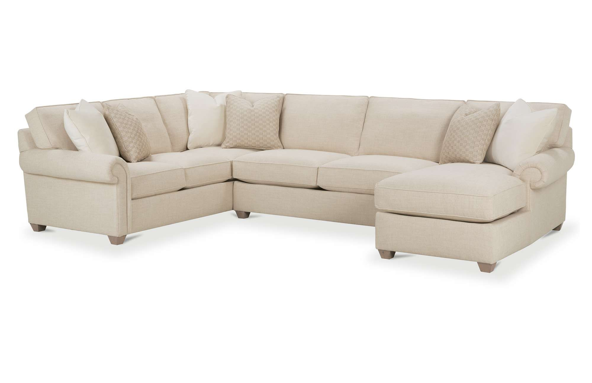 The Morgan Sectional Is The Perfect Cornerstone For Any Living