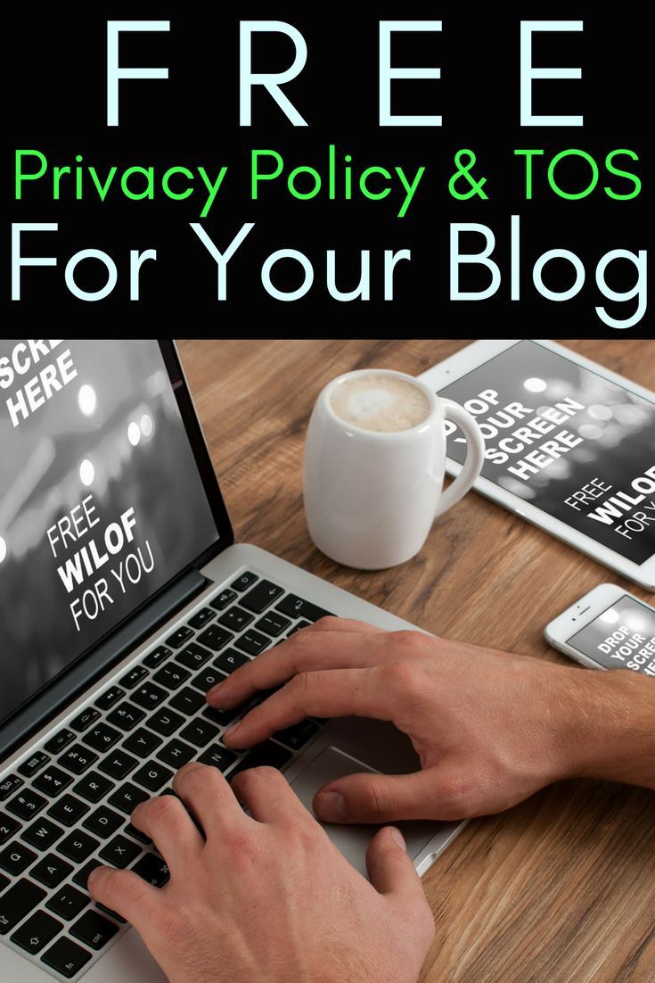 Need A Terms Of Use Template And A Privacy Policy Template Learn To - Free online privacy policy template