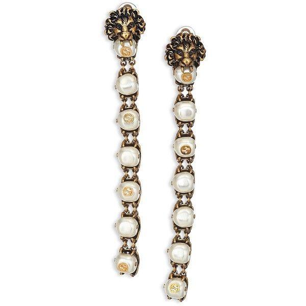 Gucci Pearl drop earrings JxN4Qs0r