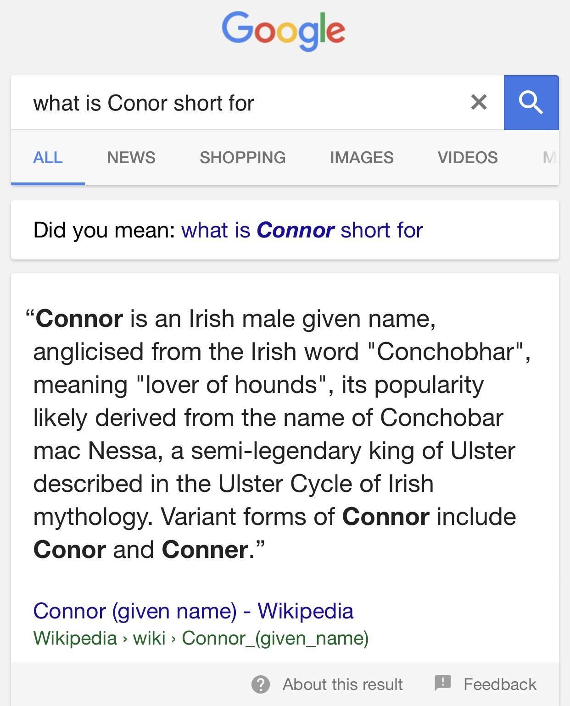 Conchobhar? Conchobhar. \_(ツ)_/