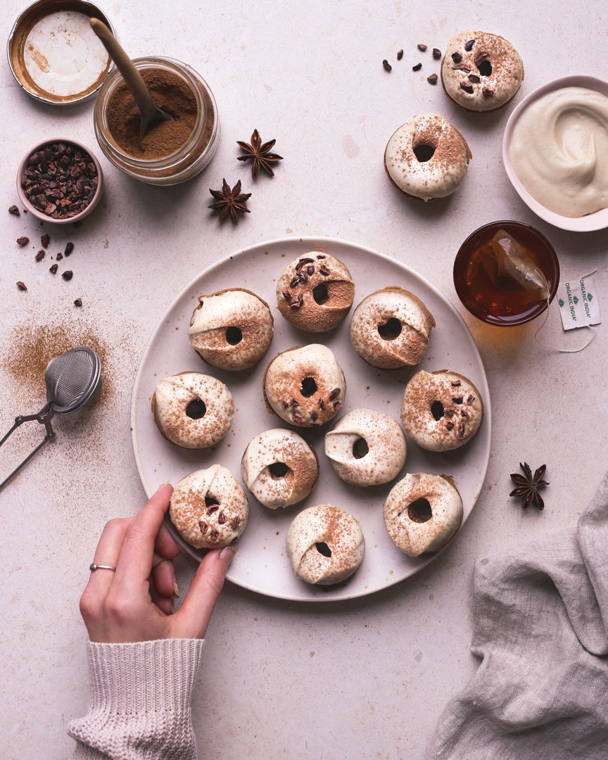 chai latte doughnuts bos kitchen happy october friends its that time of year when im baking almost every day its my favourite way to spend time - Bos Kitchen