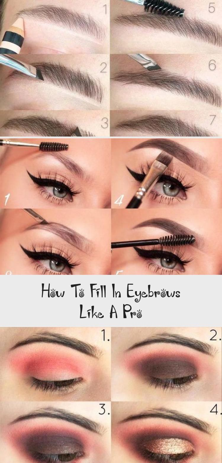 How To Fill In Eyebrows Like A Pro #eyebrowstutorial