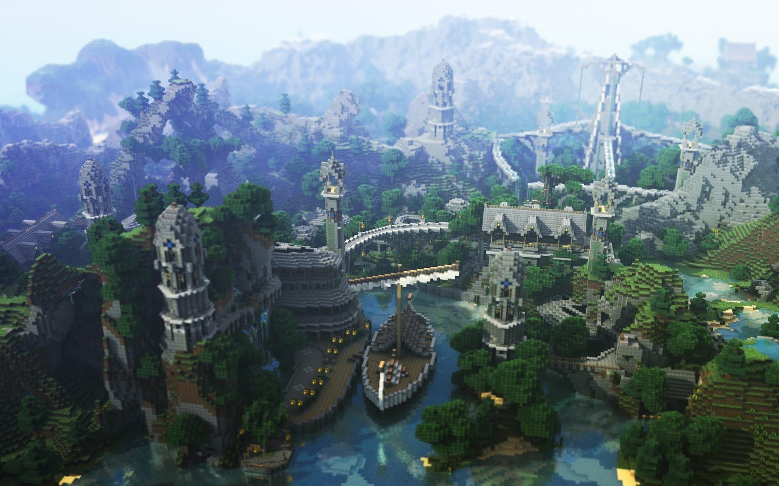 When the City Hugs the Sea... - Imgur | Minecraft ...