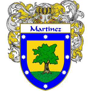 Martinez Coat Of Arms Mantled Coat Of Arms Family Shield Arms