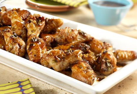 Many fragrant flavors combine to create slow-cooked wings to please any palate.