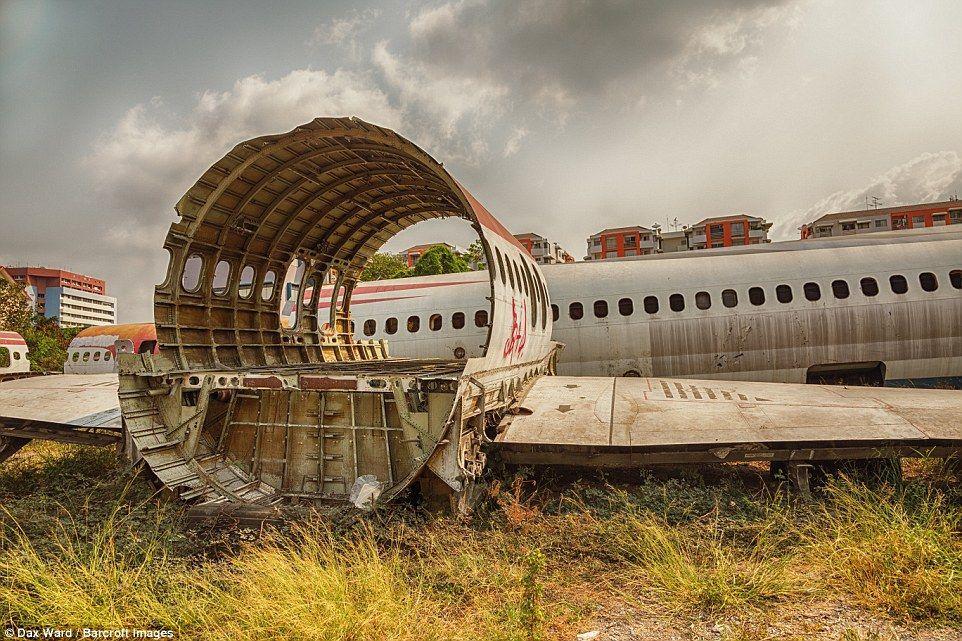 The Aeroplane Graveyard of Thailand Charismatic