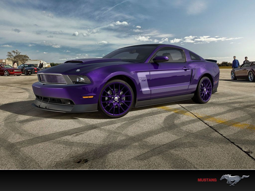 Ford raptor purple