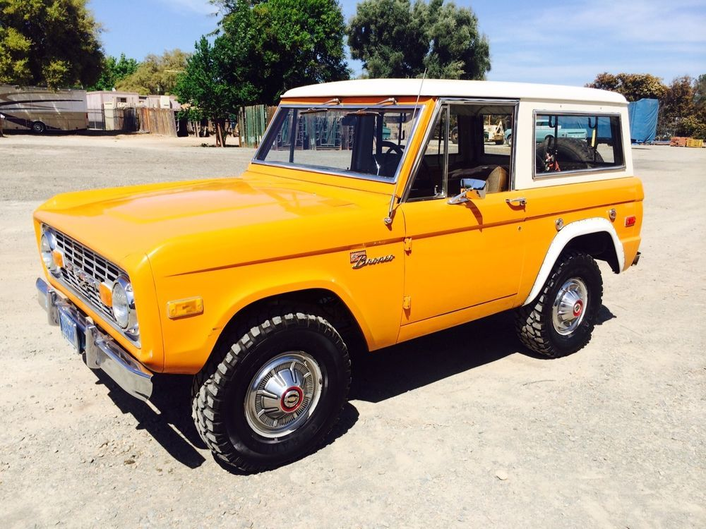 Ford Bronco 4x4 Ford bronco, Bronco sports, Built ford