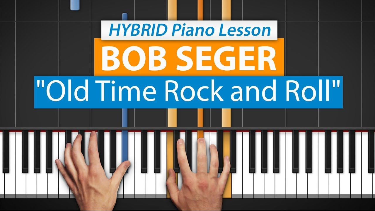 How To Play Old Time Rock Roll By Bob Seger Hdpiano Part 1 Piano Piano Piano Tutorial Piano Lessons