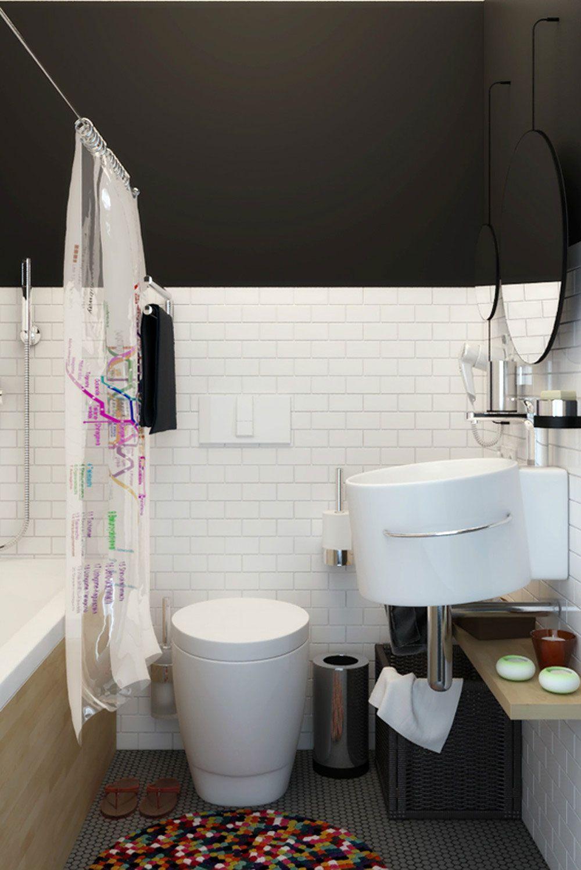 Small Apartment for a Big Man by Natalia Akimov   Pinterest ...