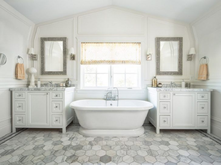 Fox group construction create this traditional bathroom ...