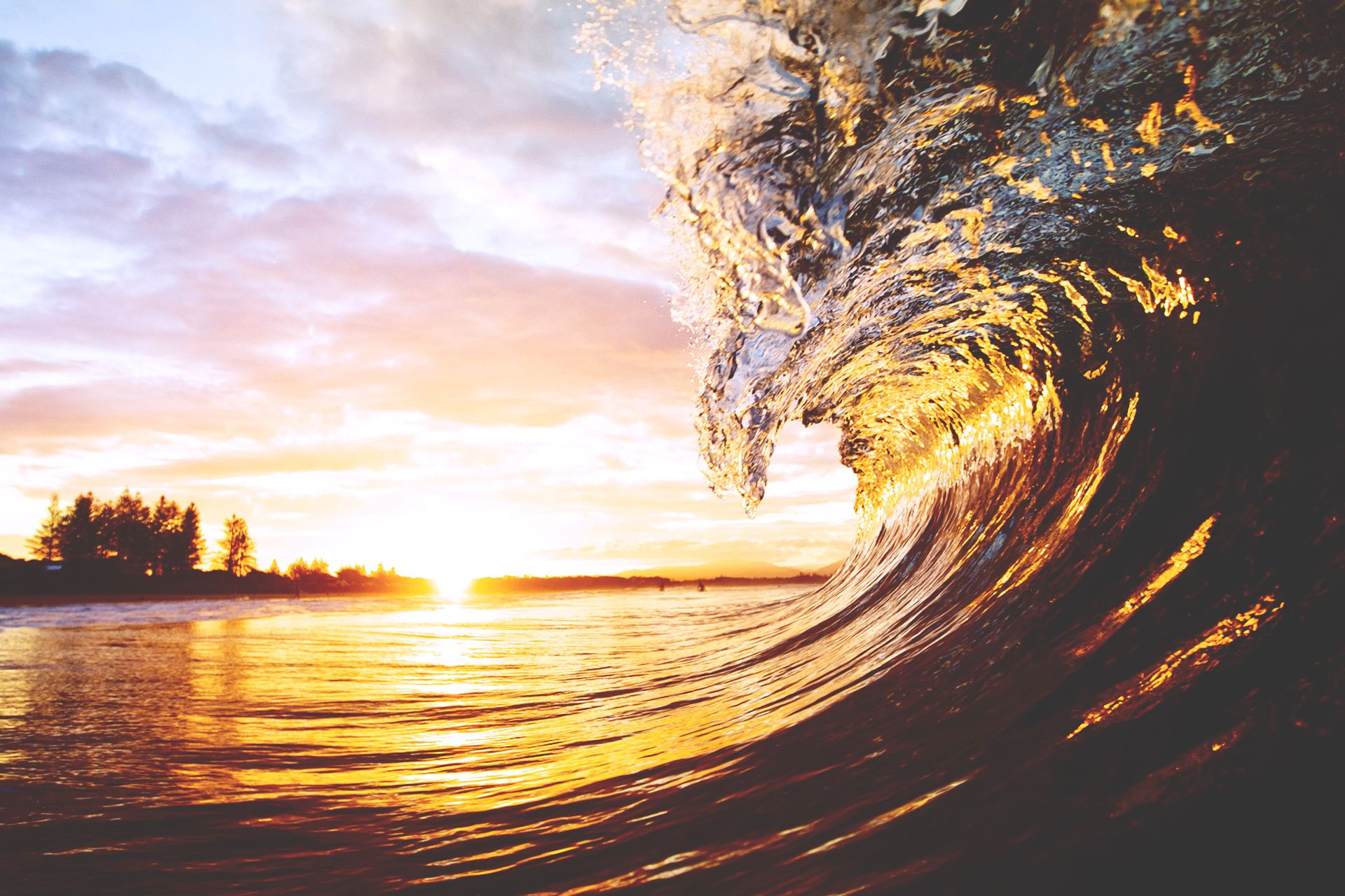 beach waves with beautiful wallpaper - photo #23