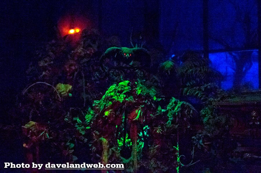 Davelandblog Disneyland Trip Report Pasta, The Haunted Mansion - trip report