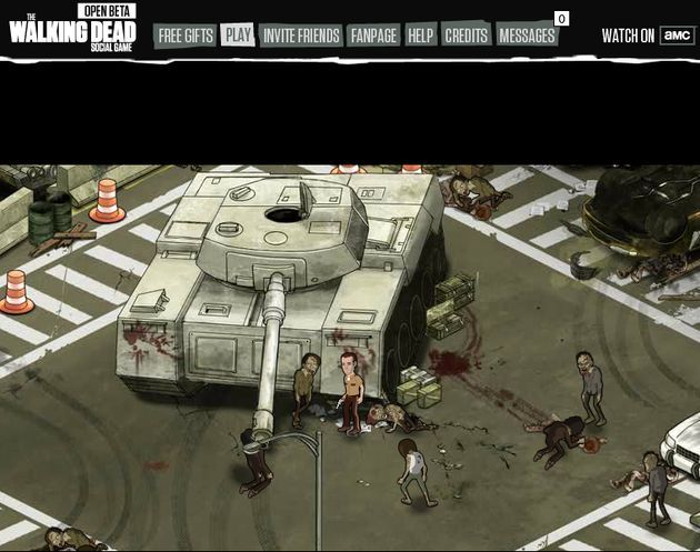 The Walking Dead Social Game, la beta abierta del juego de la popular serie ya disponible para jugar en Facebook