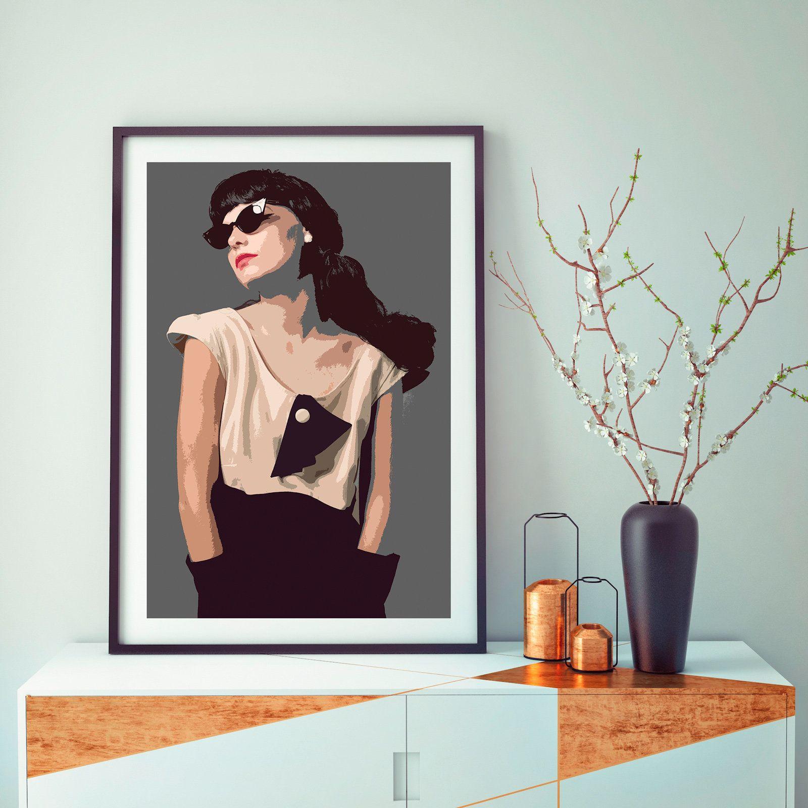 Fashion Photography Pop Art Prints Female Portraits Etsy In 2020 Pop Art Print Pop Art Portrait Photo
