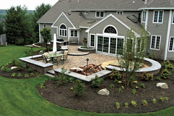 Sun Room Connected To Poured Patio