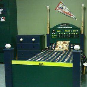 Baseball Bed By WWBeds Custom Furniture