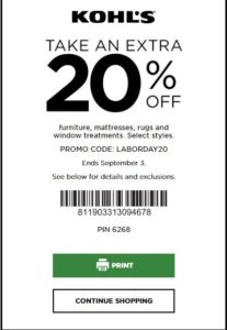 Kohls 30 Off In Store Coupon August 2019 Kohls Coupons Kohls Printable Coupons Kohls Promo Codes