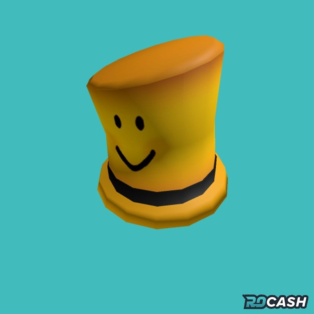 Roblox Laughter Hat Want To Get The Noobie Top Hat For Free You Can Earn Robux On Rocash And Withdraw Directly To Your Roblox Account Click The Link In 2020 Roblox Top Hat