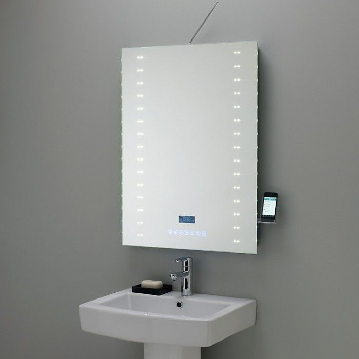 objects of design 175 digital radio mirror mirror display rh pinterest co uk Shower Built in Mirror Built in Bathroom Cabinet with Mirror