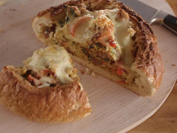 Italian egg bread bowl receta forumfinder Image collections